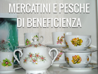 mercatini e pesche di beneficienza